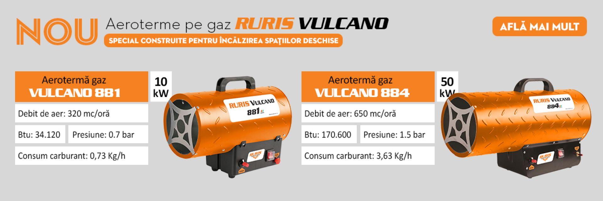 Aeroterme gaz