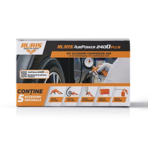 Kit accesorii compresor<span> RURIS AirPower 2400PLUS