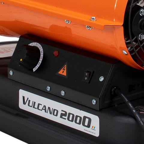 Tun de aer cald cu ardere directă<span> VULCANO 2000