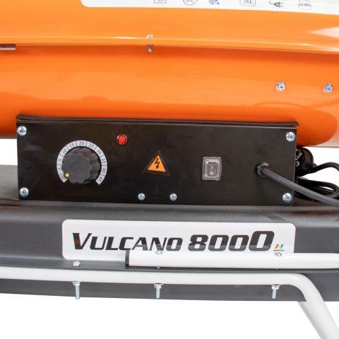 Tun de aer cald cu ardere indirectă<span> VULCANO 8000